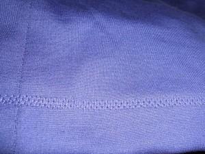 stretch knit hem stitch