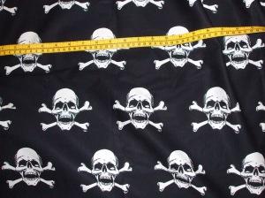 Skull print fabric