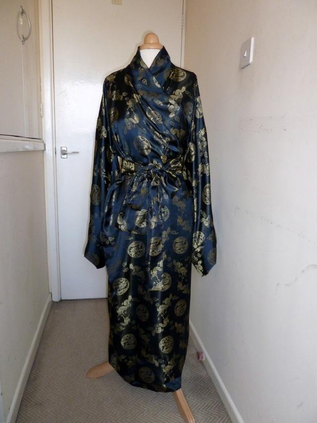 Dragon kimono front full length