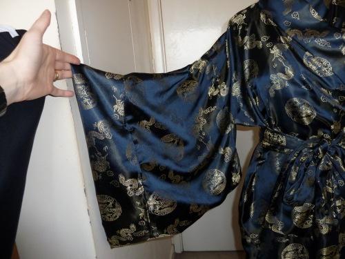 Dragon kimono sleeve
