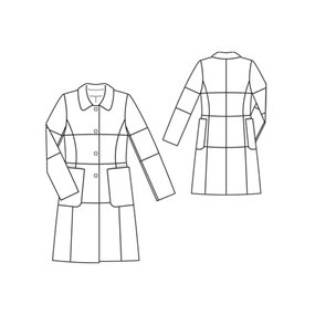 Burda 104-12-2011 technical drawing
