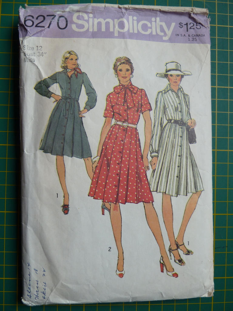 Simplicity 6270 envelope picture