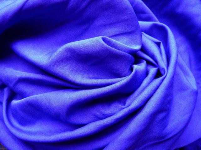 Strange blue fabric