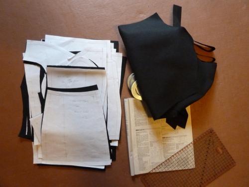 Coat muslin pieces