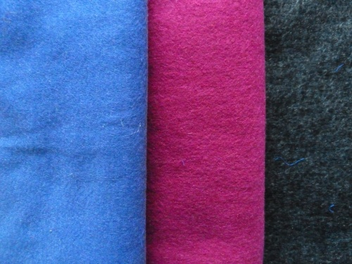 Wool jersey fabric
