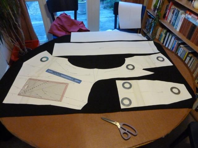 Cutting McQueen jacket
