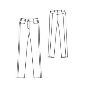 Burda 103-07-2010 technical drawing