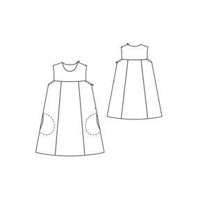 Burda 120-01-2012 technical drawing