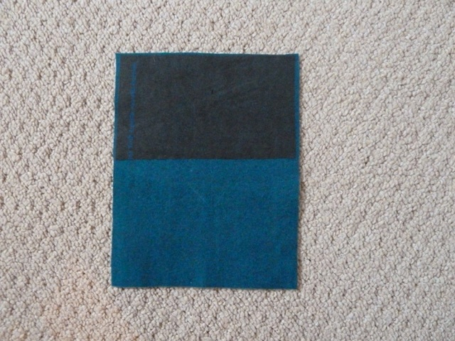 Pocket piece with interfacing