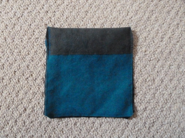 Pocket with edges trimmed (outside)