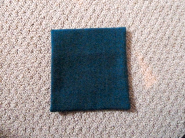 Turned and pressed pocket (outside)