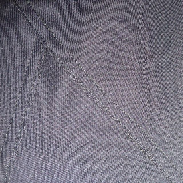 Vogue 1378 seam detail