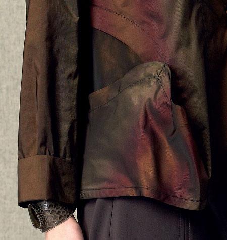 Vogue 9035 envelope pocket detail
