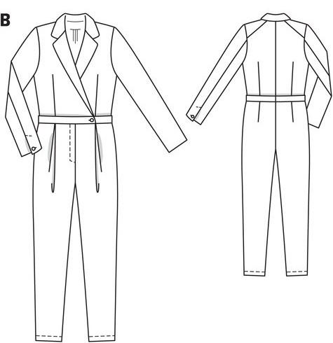 burda 107-04-2014 tech drawing