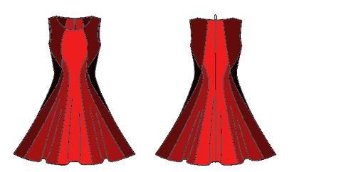 Vogue 1408 in reds