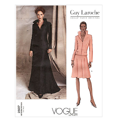 Vogue 2607 envelope art