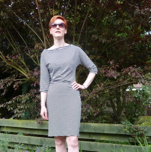 Westwood style stripey dress