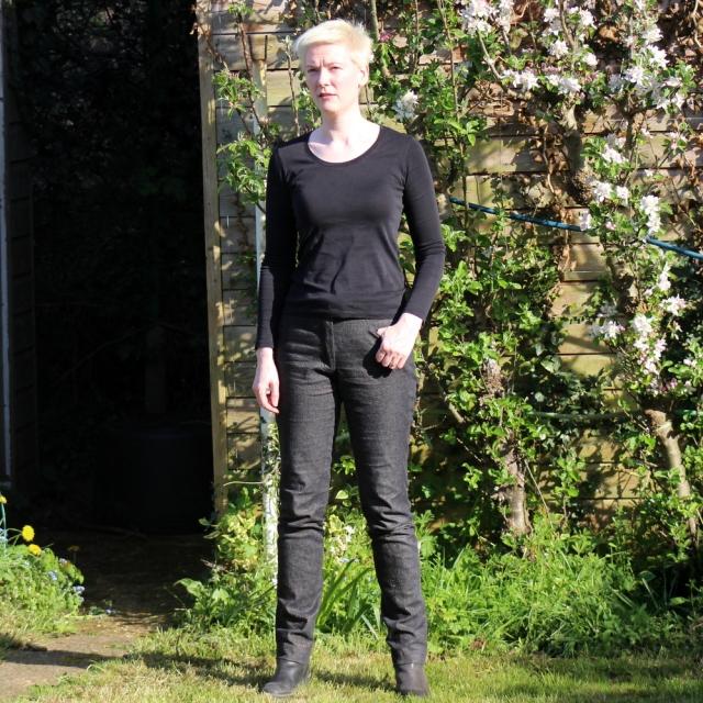 Burda 103-07-2010 bronze jeans