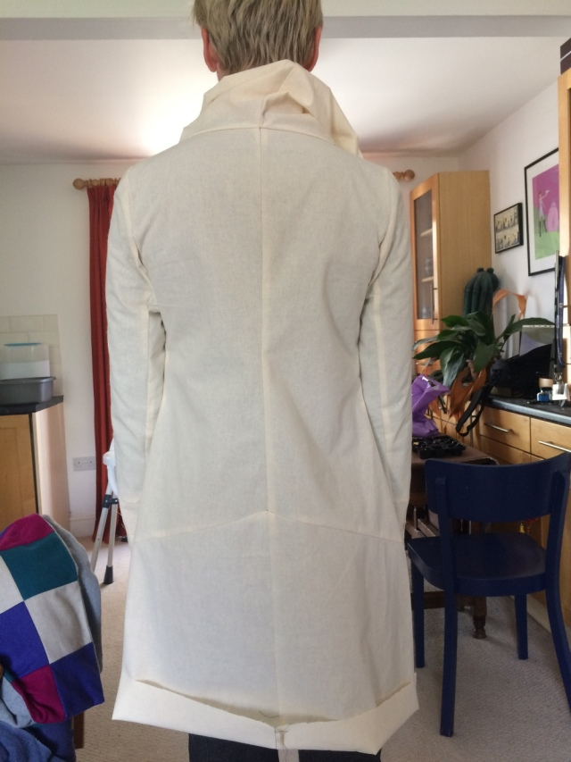 Style Arc Genevieve toile back view