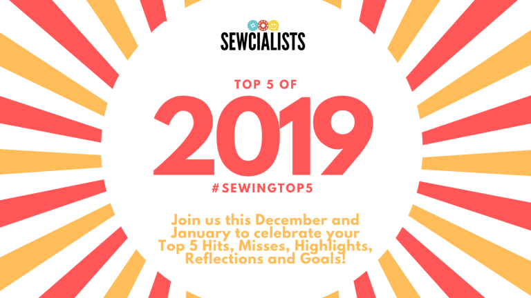 Sewing Top Fives  of 2019 logo