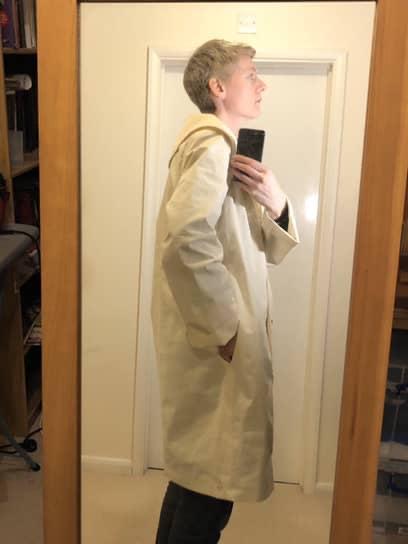 Burda 114 11/2019 toile side view showing pocket