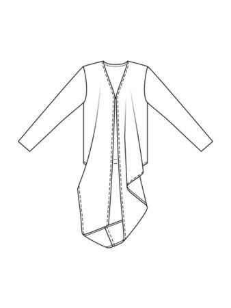 Burda 111 6/2021 line drawing